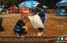 Volunter Kontingen Kebaikan Danone Aqua Ramaikan Asian Games - JPNN.com