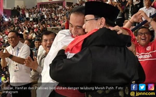 Begini Perasaan Jokowi Setelah Berpelukan dengan Prabowo - JPNN.com
