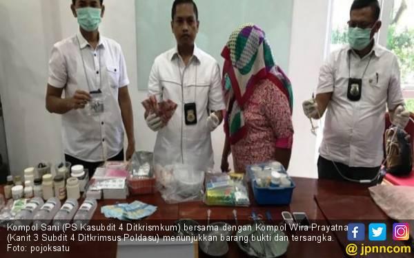 Pensiunan PNS Ditangkap saat Hendak Aborsi Pasien di Medan - JPNN.com