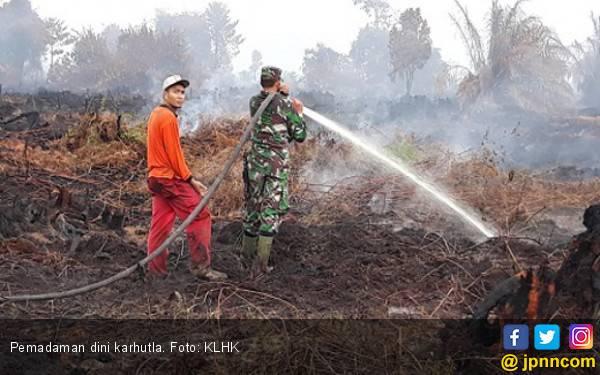 Bupati KKU Ajak Masyarakat Gotong Royong Padamkan Titik Api Karhutla - JPNN.com