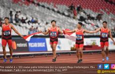 Heboh, Indonesia Ukir Sejarah Lari Estafet 4 x 100m Putra - JPNN.com