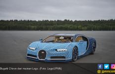 Replika Bugatti Chiron dari Lego Bisa Dikendarai - JPNN.com