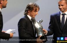 Tidak Salah Bukan Ronaldo, Luka Modric Pemain Terbaik UEFA - JPNN.com