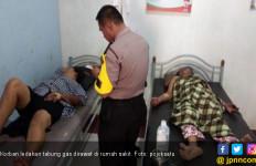 Tabung Gas Meledak, 11Warga di Kuala Tanjung Terbakar - JPNN.com