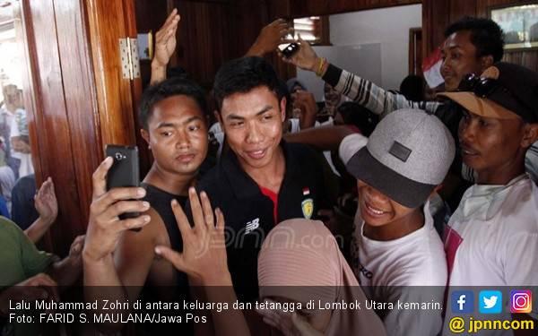 Lalu Muhammad Zohri Pulang Kampung, Ada Kerinduan, Keharuan - JPNN.com