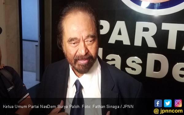 Surya Paloh Sebut Belum Ada Niat Dukung Anies Baswedan di Pilpres 2019 - JPNN.com