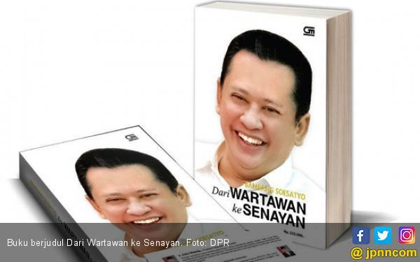 Ada Buku Perjalanan Bamsoet dari Wartawan Hingga Ketua DPR - JPNN.com