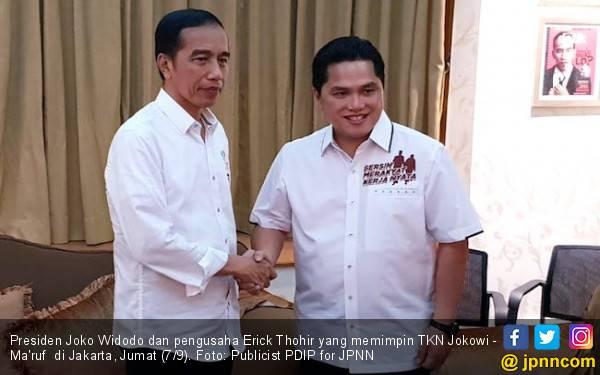 Erick Thohir Akui Kesabaran Jokowi Sudah Hilang - JPNN.com