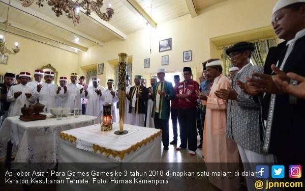 Api Asian Para Games 2018 Diinapkan di Kesultanan Ternate - JPNN.com