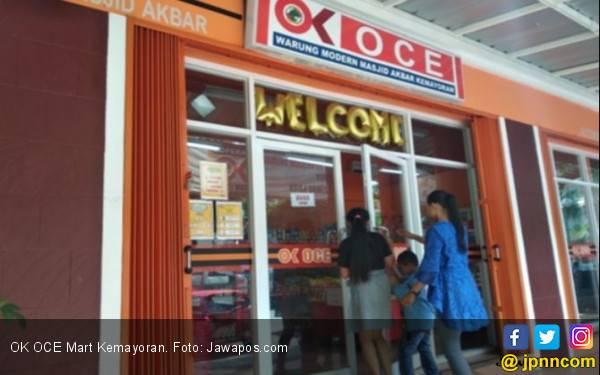 Mampu Bertahan, OK OCE Mart Kemayoran Andalkan Produk Muslim - JPNN.com