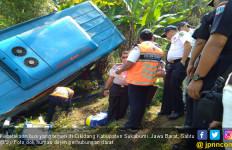 Penyebab Kecelakaan Bus di Sukabumi Masih Diselidik - JPNN.com