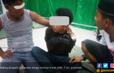 Pelajar Disergap Warga Saat Curi Kota Infak Masjid - JPNN.com