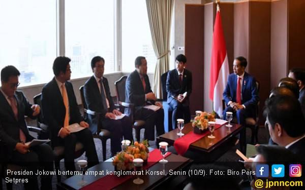 Jokowi Bahas Isu Penting dengan Empat Konglomerat Korsel - JPNN.com