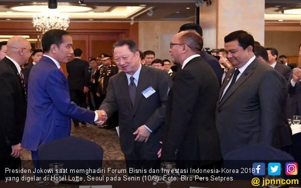 Jokowi Apresiasi Investasi Konglomerat Korsel di Indonesia - JPNN.com