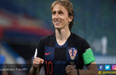 Spanyol vs Kroasia: Luka Modric Mencari Kado Ultah - JPNN.com
