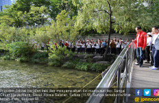 Jokowi Ingin Ciliwung Seperti Sungai Cheonggyecheon di Korea - JPNN.com