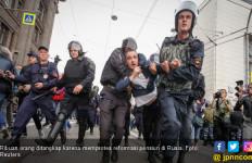 Polisi Rusia Geledah Ratusan Rumah Pendukung Oposisi - JPNN.com