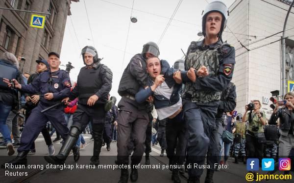 Polisi Rusia Kembali Tangkap Aktivis Oposisi dan Jurnalis - JPNN.com