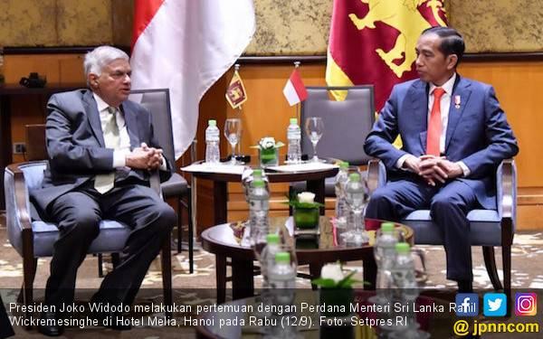 Jokowi Ingin Kerja Sama Indonesia - Sri Lanka Meningkat - JPNN.com