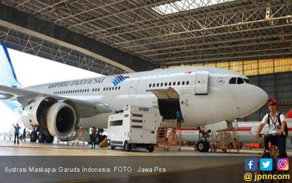 Garuda Indonesia Grounded Pesawat Boeing 737 Max - JPNN.com