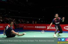 Fuzhou China Open: Ahsan / Hendra Gagal Susul Marcus / Kevin - JPNN.com