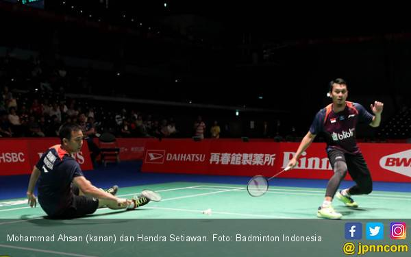Ahsan / Hendra Hentikan Goh / Tan di 16 Besar Hong Kong Open - JPNN.com