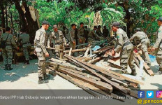 Satpol PP Sidoarjo Bersih-Bersih Bangli - JPNN.com