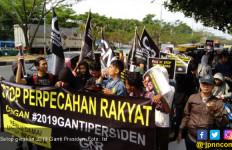 Kisruh di Masyarakat, Hentikan Gerakan 2019 Ganti Presiden! - JPNN.com