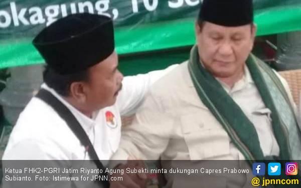Pimpinan Honorer K2 Cerita Suasana Syukuran Kemenangan Prabowo - Sandi - JPNN.com