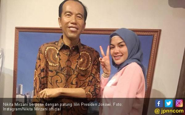 Nikita Mirzani Ucapkan Selamat untuk Jokowi - JPNN.com