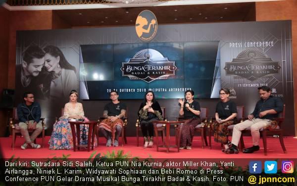 Yuk, Nonton Drama Musikal Bunga Terakhir Badai & Kasih - JPNN.com