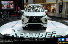 Tampilan Anyar Mitsubishi Xpander Mengaspal di Bandung - JPNN.com