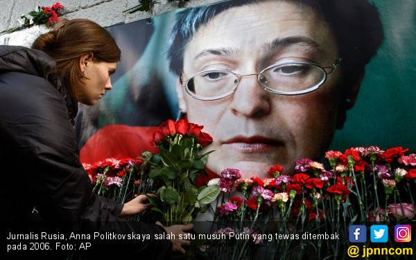 Nasib Musuh-Musuh Putin: Diracun, Ditembak, Difitnah - JPNN.com