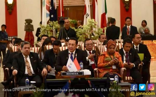 Ketua DPR Buka Pertemuan Parlemen MIKTA - JPNN.com