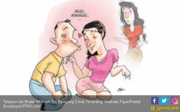 Tatapan tak Biasa ke Anak Tiri Berujung Cinta Terlarang - JPNN.com