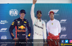 Posisi Pole Bawa Hamilton Genggam Podium F1 Singapura - JPNN.com