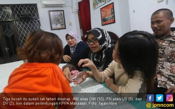 Penyekapan Anak di Makassar: Kabur dengan Sebatang Besi - JPNN.com