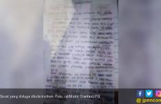 Fernando Gantung Diri, Secarik Surat Ditemukan di Dekatnya - JPNN.com