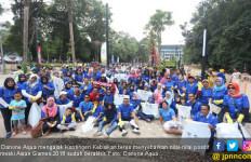 Asian Games Kelar, Danone Aqua Terus Sebar Semangat Kebaikan - JPNN.com