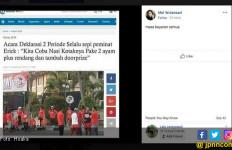 Erick Thohir Diserang Berita Nasi Kotak plus Rendang - JPNN.com