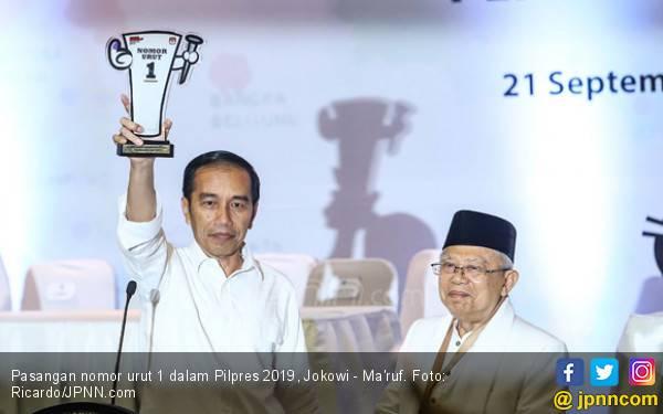 Jokowi - Ma'ruf Ditargetkan Menang Besar di Pilpres 2019 - JPNN.com