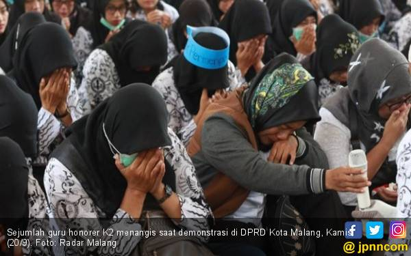 Pak Jokowi, Masih Adakah Harapan untuk Honorer K2 Tua? - JPNN.com