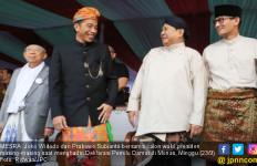 Jokowi dan Prabowo Pamer Kemesraan di Deklarasi Pemilu Damai - JPNN.com