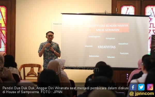 Dus Duk Duk, Buka Peluang dari Kardus - JPNN.com