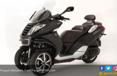 Skuter Tiga Roda Pertama Peugeot Pakai Kamera Dasbor - JPNN.com