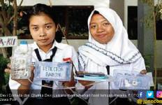 Siswa SMPN 41 Surabaya Buat Alat Pendeteksi Banjir - JPNN.com