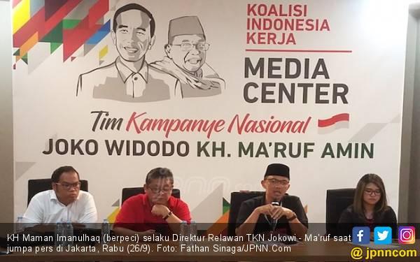 Sudah 501 Organ Relawan Perkuat TKN Jokowi - Ma'ruf - JPNN.com