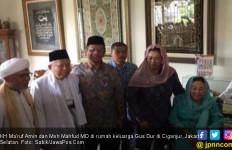 Kiai Ma'ruf & Pak Mahfud Berkumpul di Rumah Keluarga Gus Dur - JPNN.com