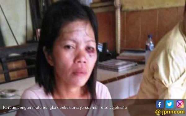 Suami Aniaya Istri Lantaran Tidak Beri Anak Uang Jajan - JPNN.com