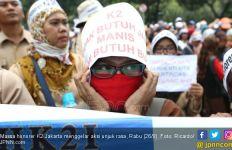 Tes Perpanjangan Kontrak, Honorer K2 DKI Jakarta Disuruh Masuk Selokan, Heboh! - JPNN.com